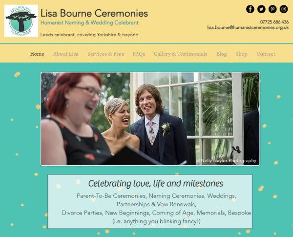Lisa Bourne Ceremonies